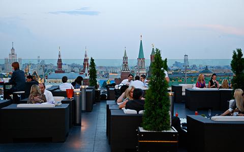 Кафе с лучшими видами на Москву - Большой город
